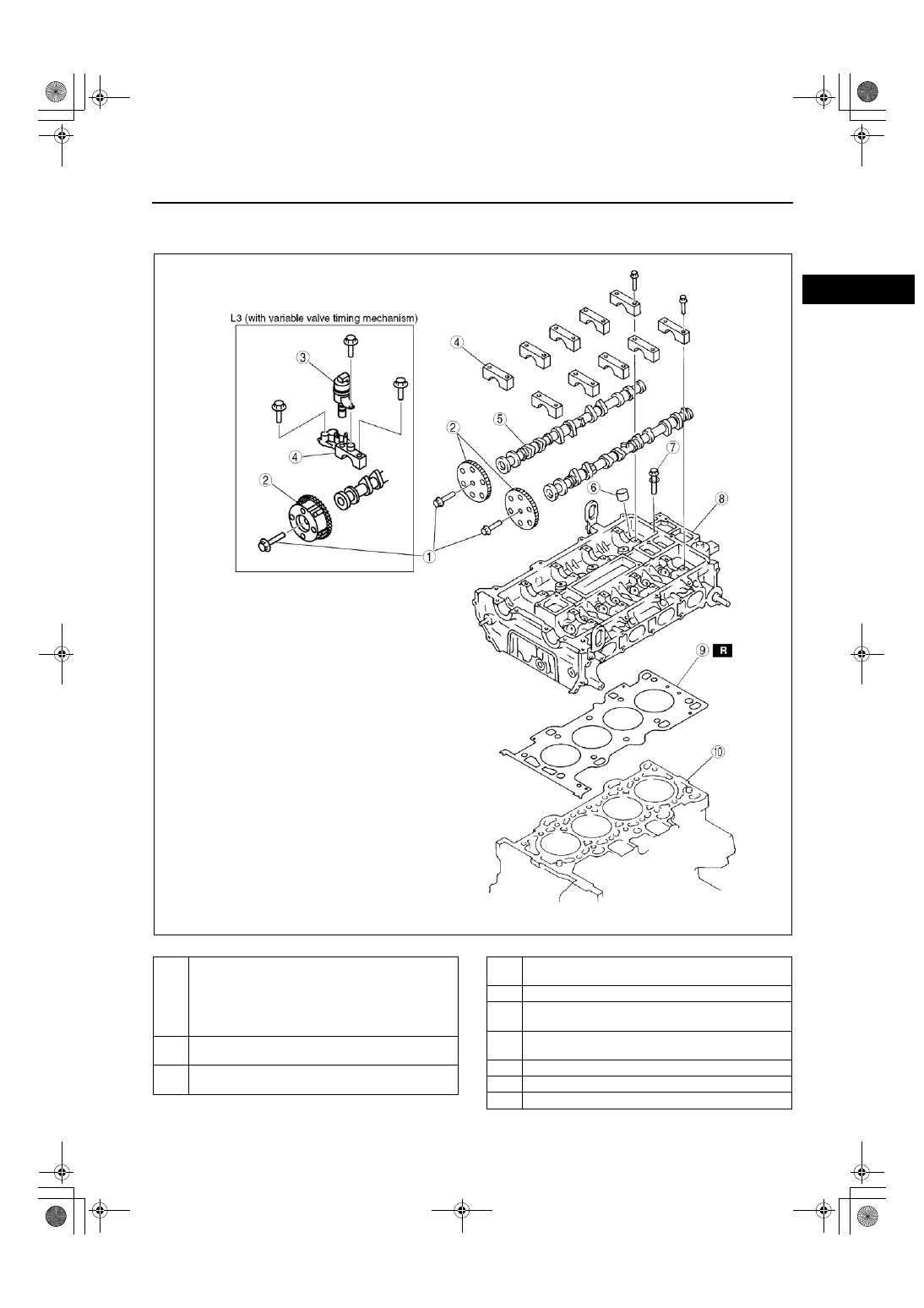 Mazda Engine L8 Lf L3 Manual Part 6 Valve Timing Diagram