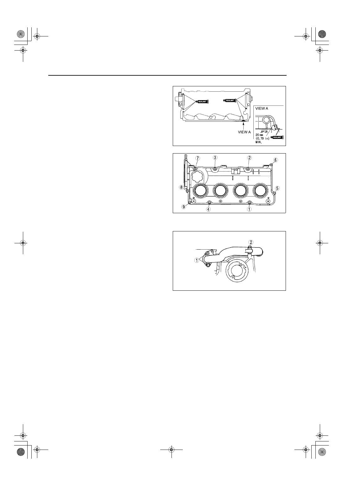 Mazda 3 Service Manual: Engine DisassemblyAssembly Mzr 2.0, Mzr 2.5