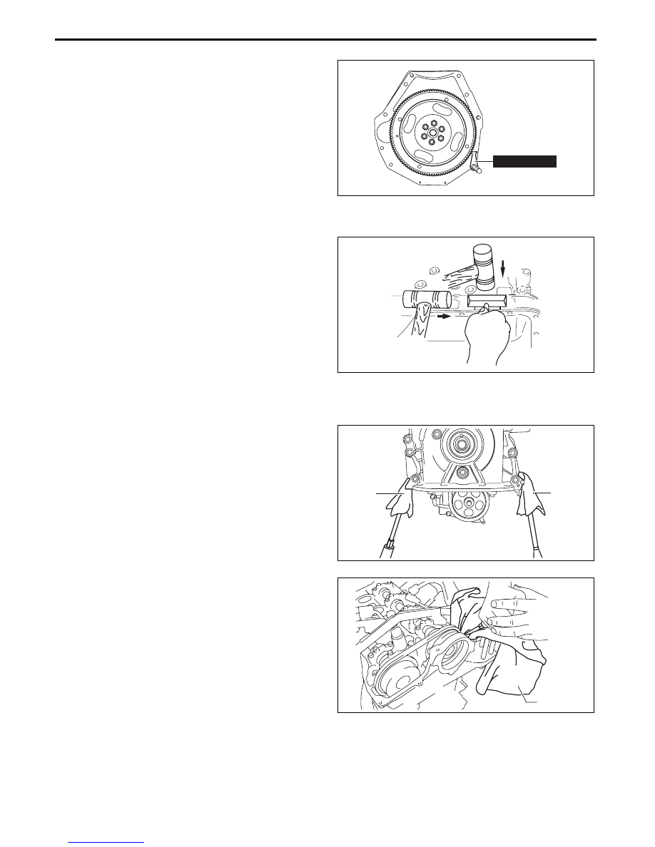 Mazda 3 Service Manual: Drive Belt RemovalInstallation Skyactiv G 2.0