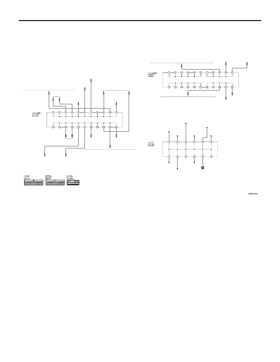 Mitsubishi L200 Manual Part 905 Central Locking Wiring Diagram Joint Connector J C