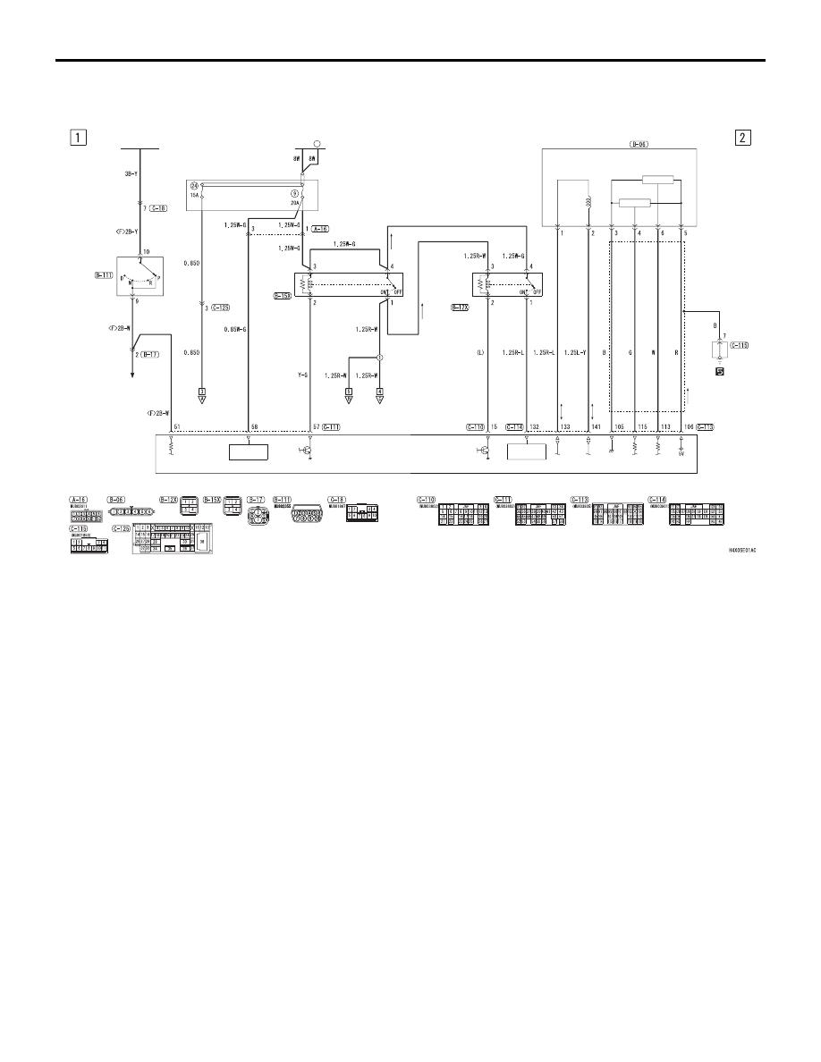 Mitsubishi Grandis Manual Part 427 Engine Diagram Control System A T Lhd Circuit Diagrams
