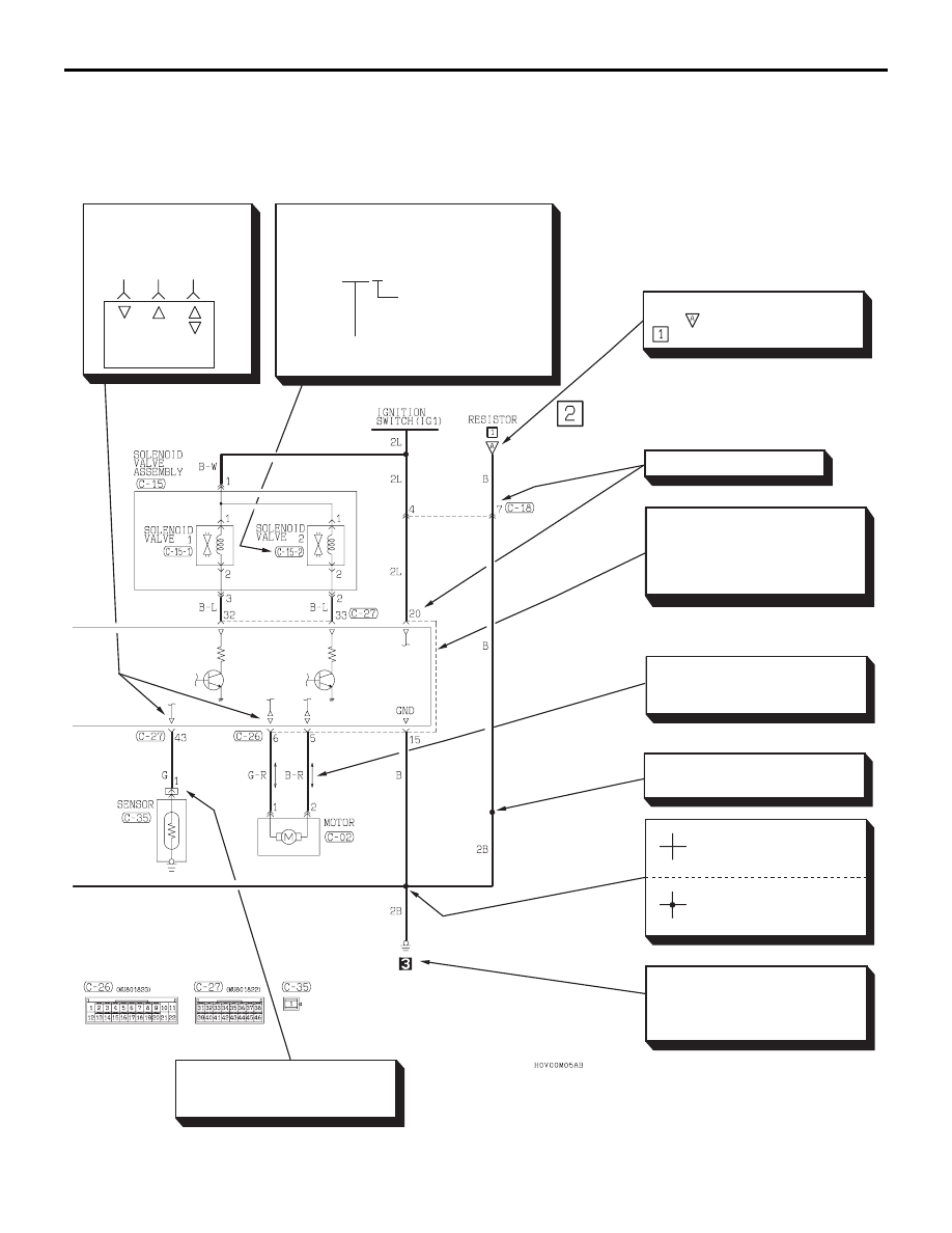 Mitsubishi 380 Wiring Diagram Schematics 2001 Fuso Manual Part 146 Genteq Motor