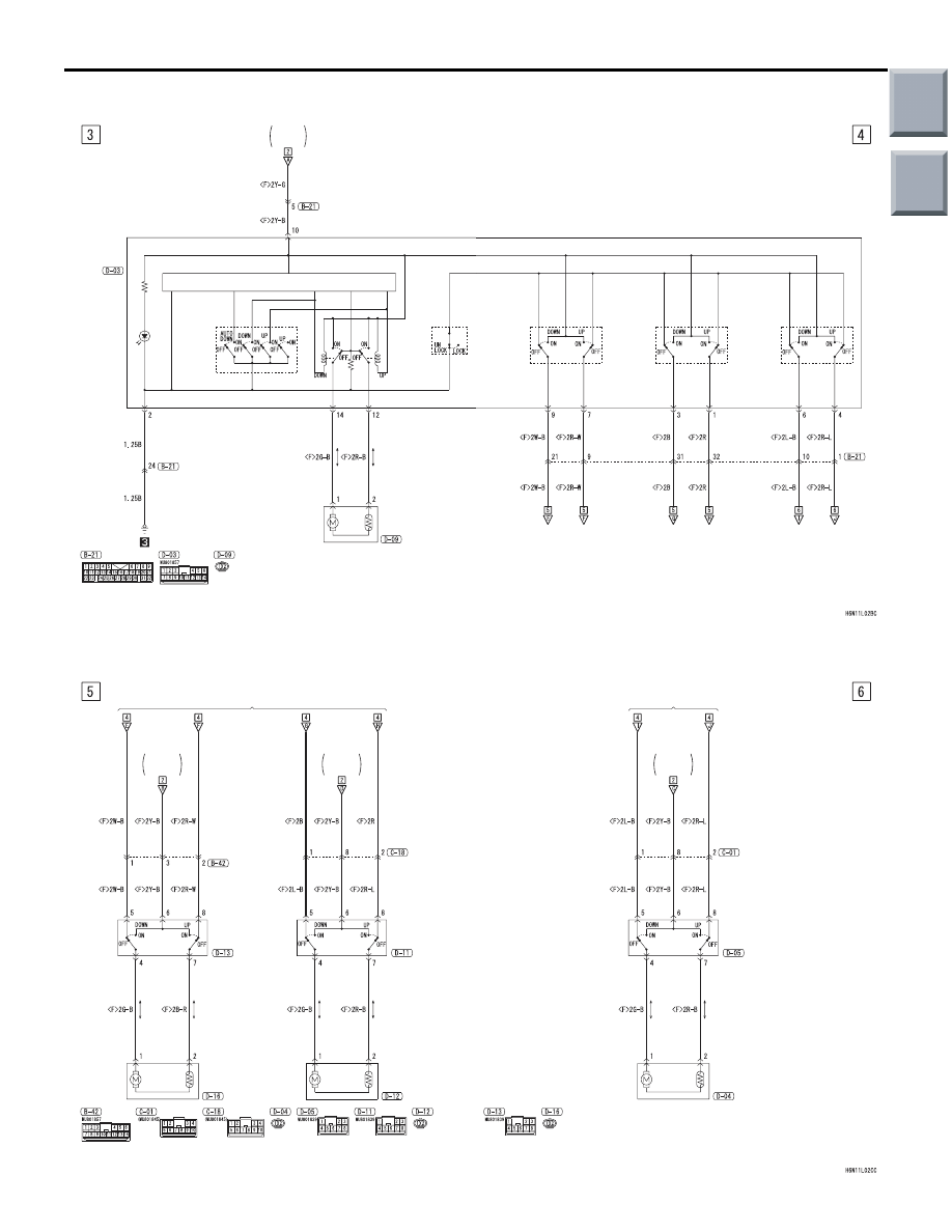 Mitsubishi Endeavor Window Wiring Diagram