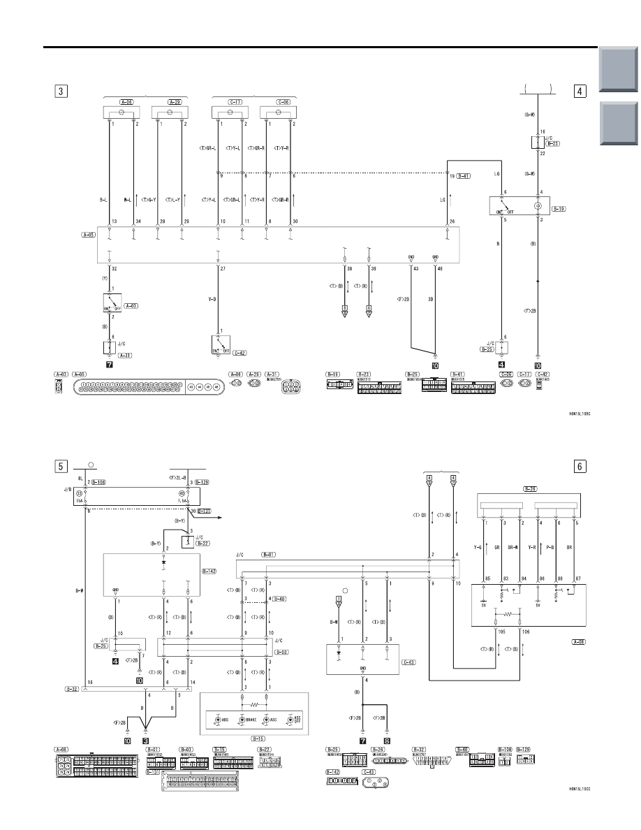 G mitsubishi ecu schematik wiring diagram and schematics