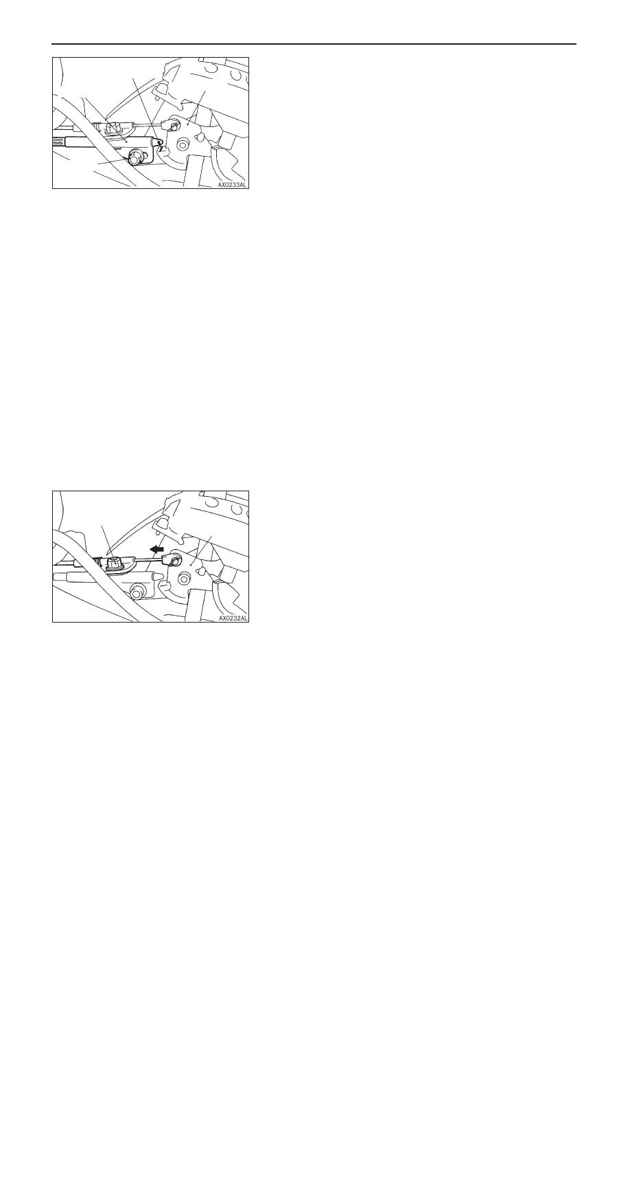 Mitsubishi Pajero Pinin Manual Part 186 Transmission Bushing Diagram Automatic