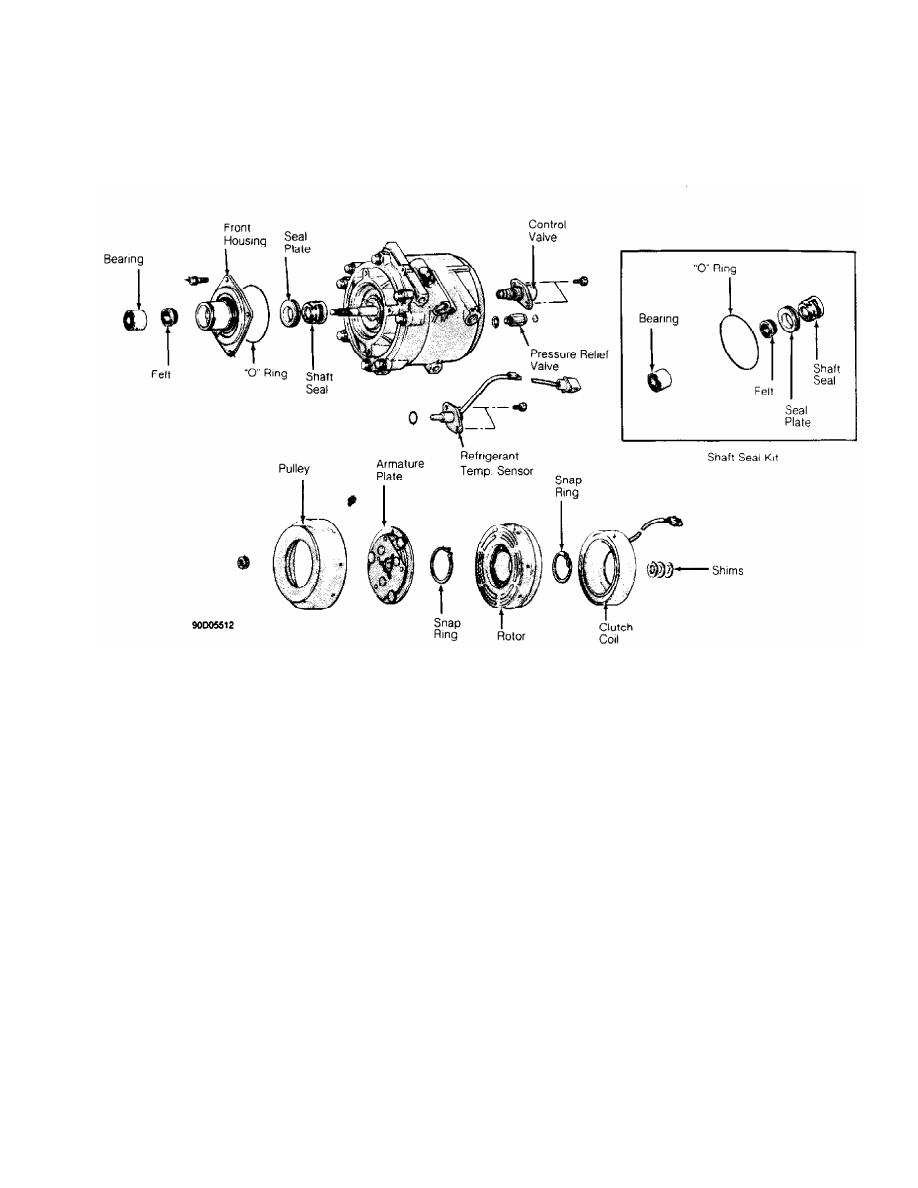 Harrison ac Compressor Manual