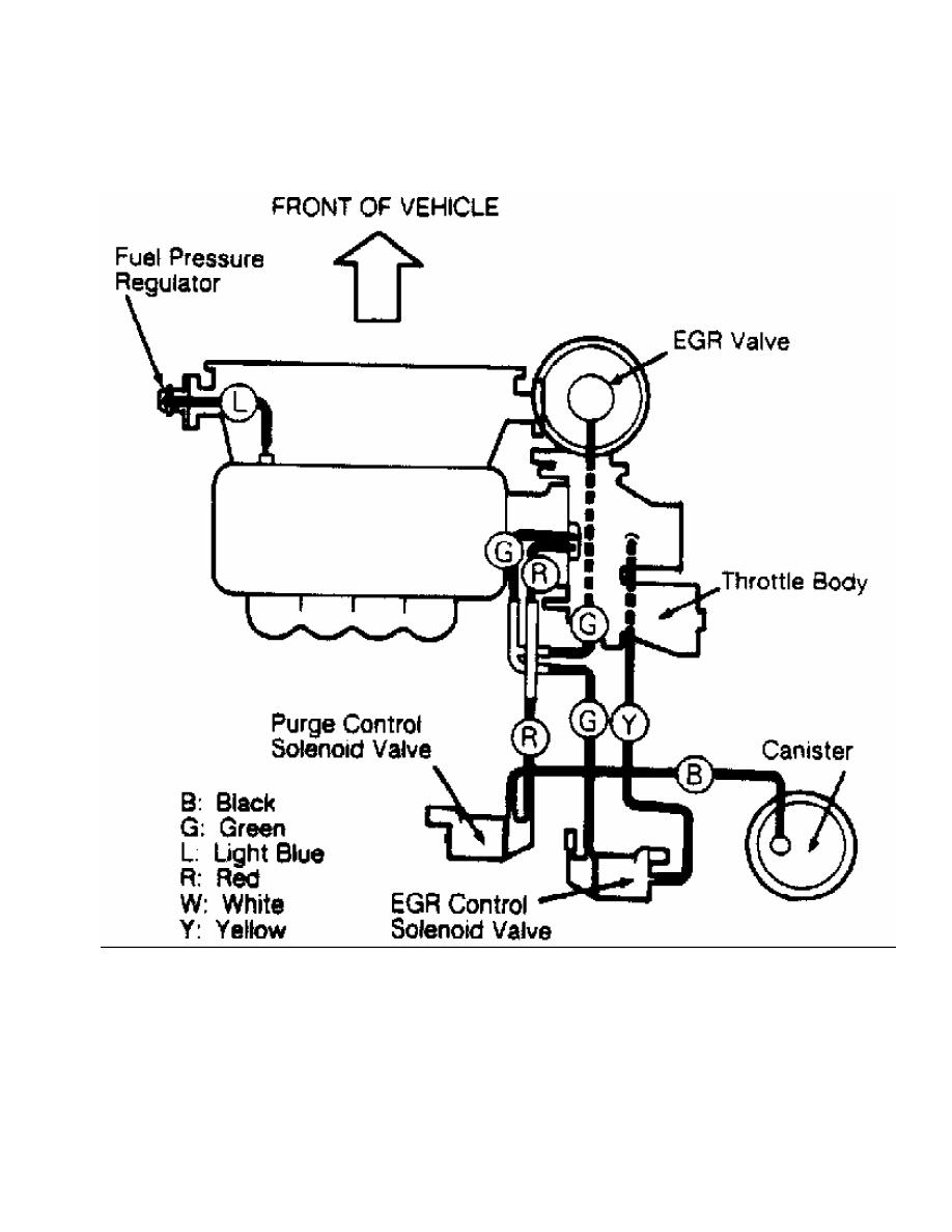 mitsubishi vacuum diagram