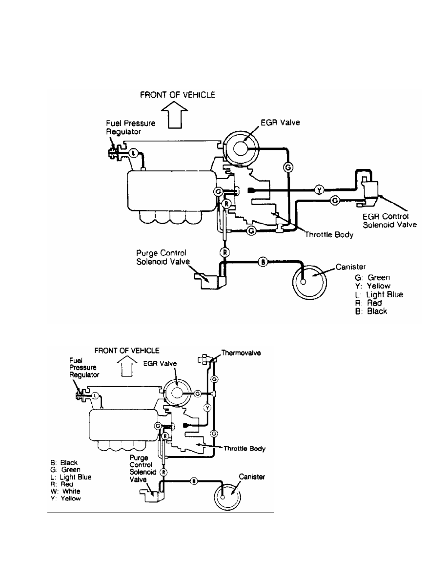 ... mitsubishi montero (1991 ) manual part 316 Mitsubishi 3.0 Engine Diagram  15 vacuum diagram (