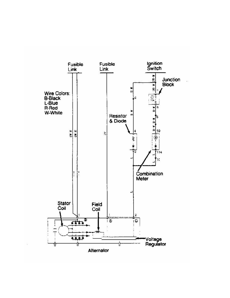 Mitsubishi Montero 1991 Manual Part 39 3000gt Wiring Diagram 8 Charging System Schematic Stealth Dohc