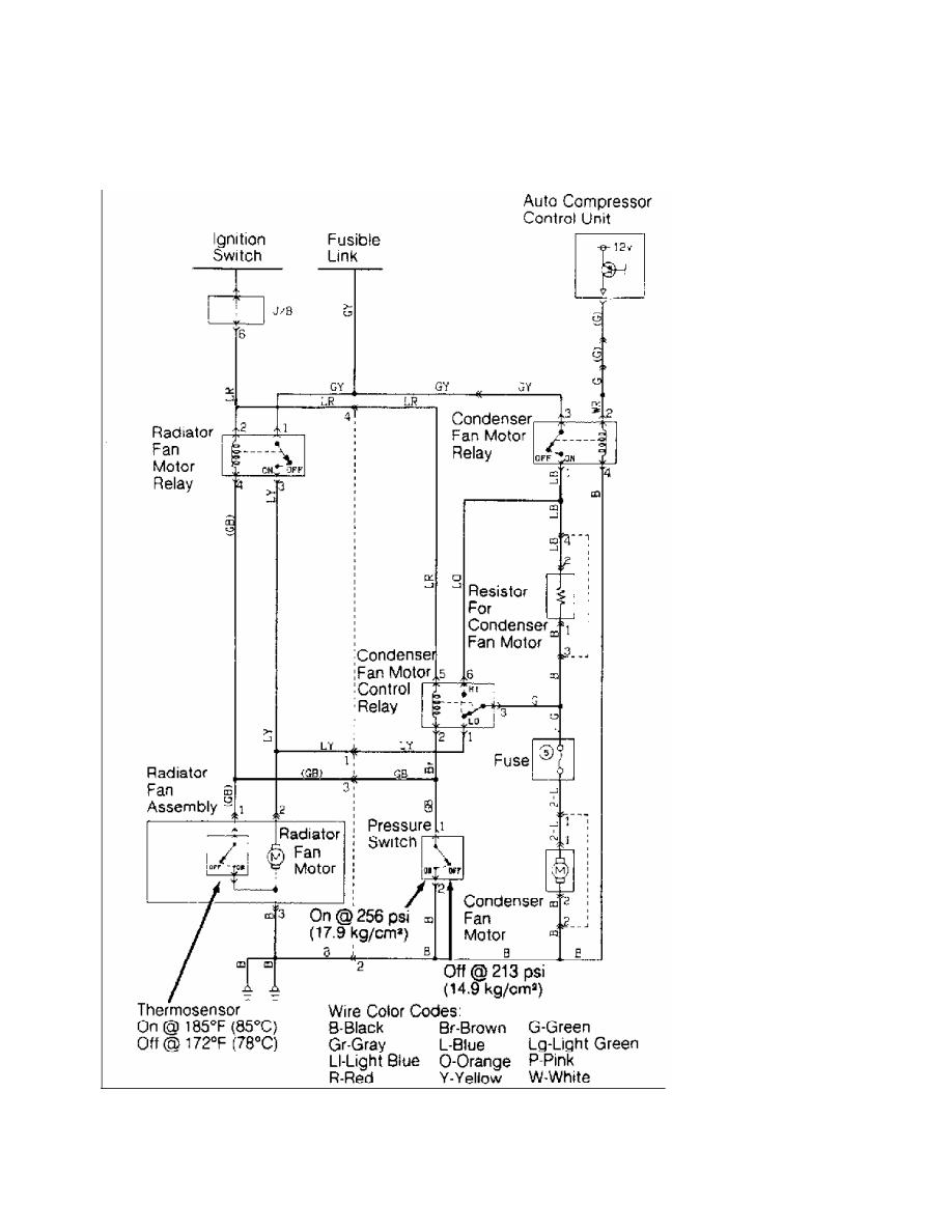 Mitsubishi Montero 1991 Manual Part 107 Cooling Fan Motor Wiring Diagram 4 Radiator Mirage 16l