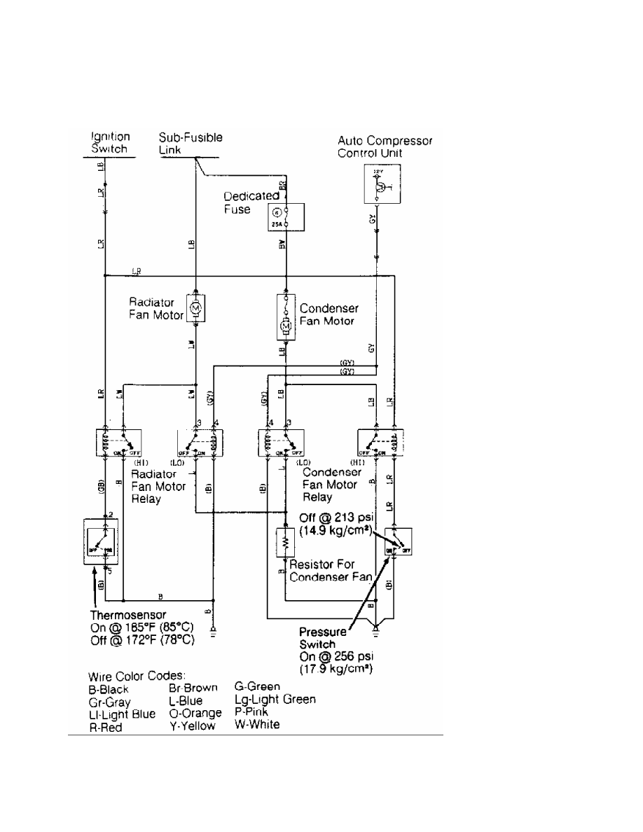 Montero Electric Fan Wiring Diagram Trusted Diagrams Automotive Mitsubishi 1991 Manual Part 108 Cooling Relay