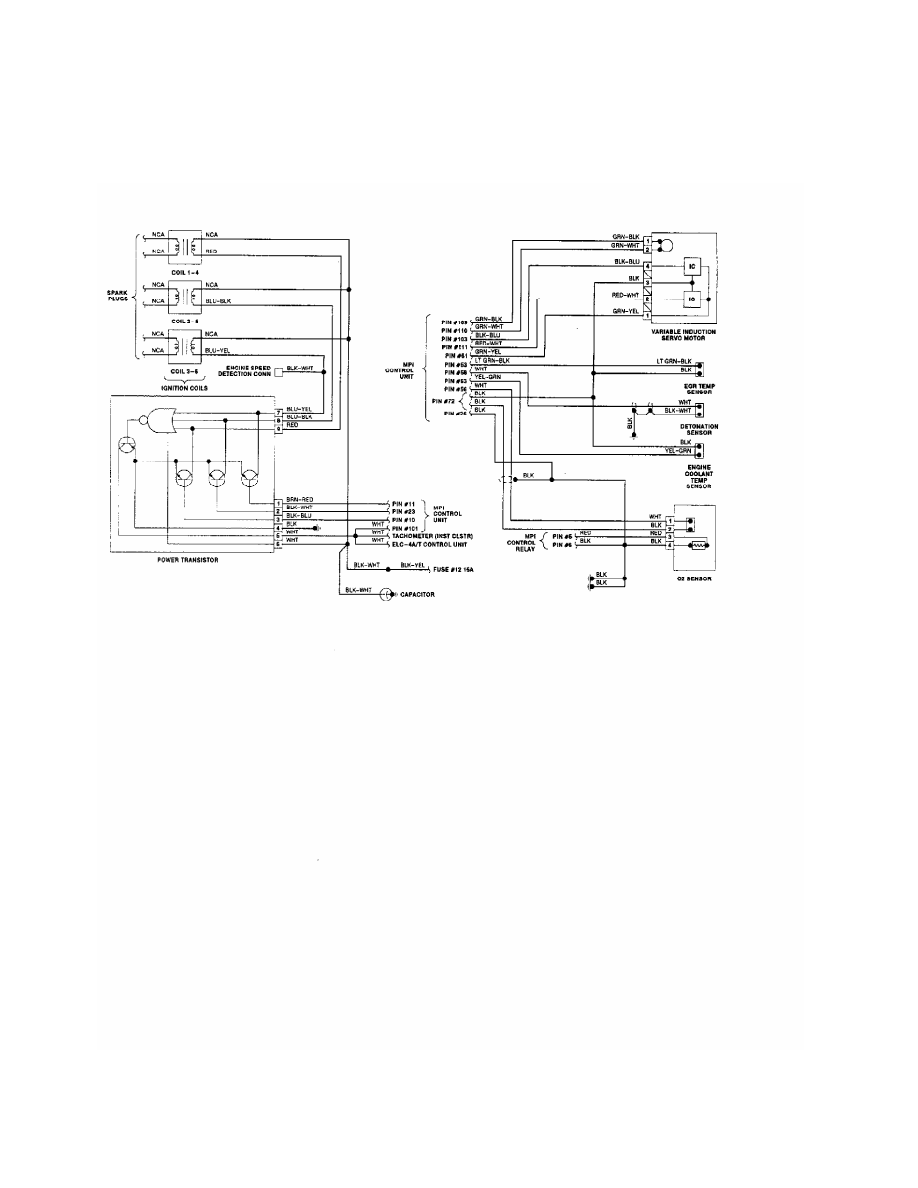 Mitsubishi Montero 1991 Manual Part 164 3000gt Wiring Diagram 15 Stealth 30l Dohc 2 Of