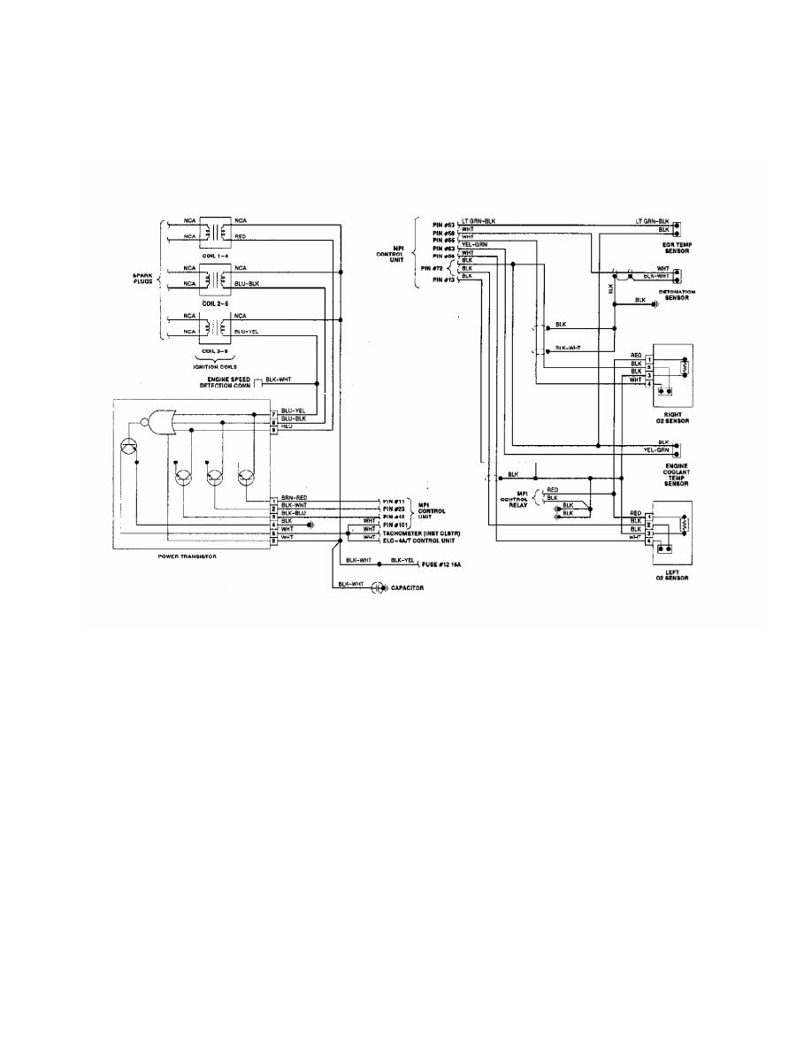 Mitsubishi Montero 1991 Manual Part 164 3000gt Wiring Diagram 17 Stealth 30l Turbo 2 Of