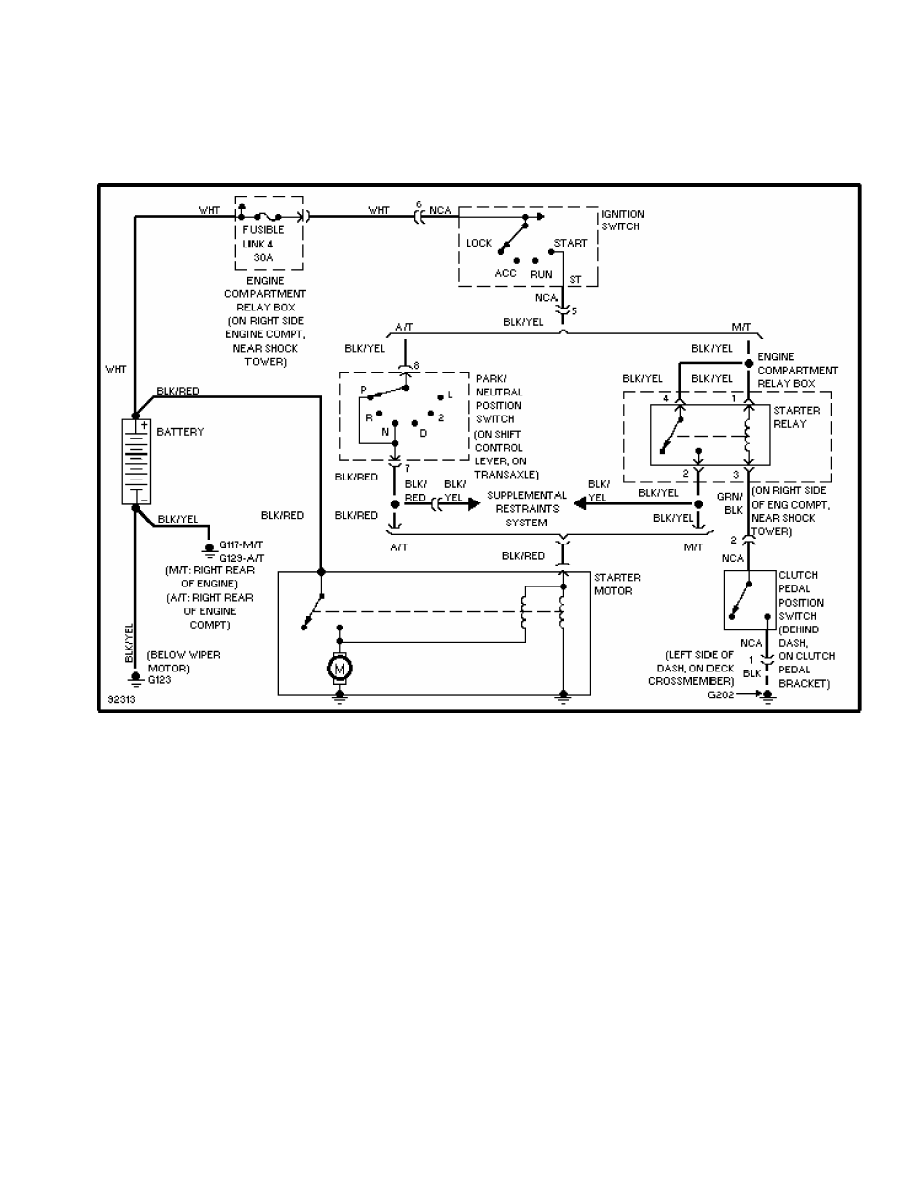Have Included A Copy Of The Starting System Wiring Diagram Before