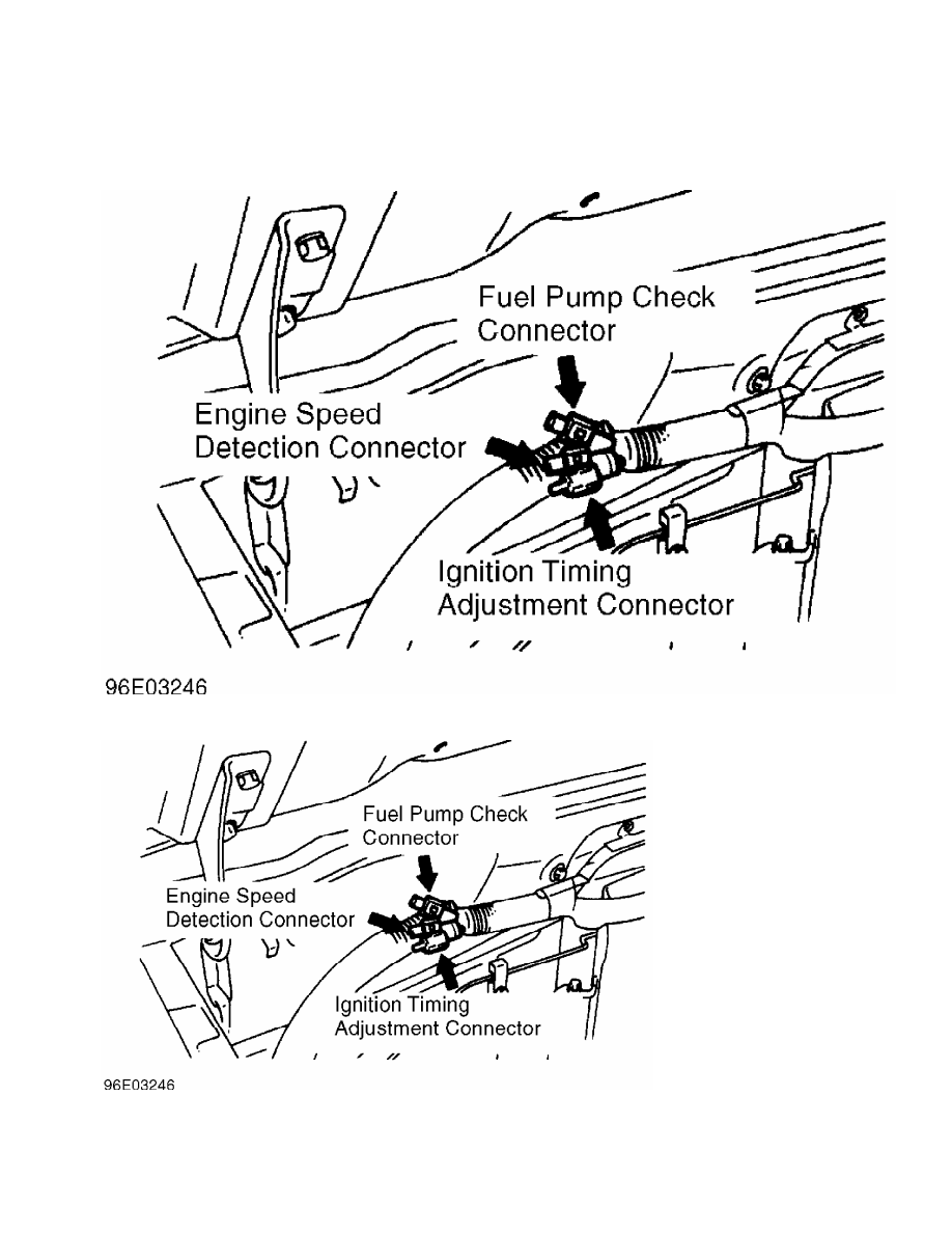 Mitsubishi Montero 1998 Manual Part 120 Wiring Harness Connectors