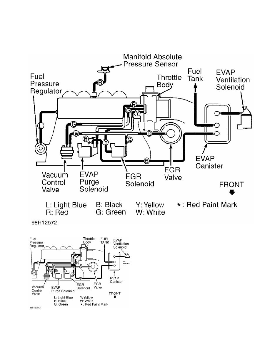 Mitsubishi Montero (1998+). Manual - part 239 | 1998 Mitsubishi Montero Engine Diagram |  | Zinref.ru