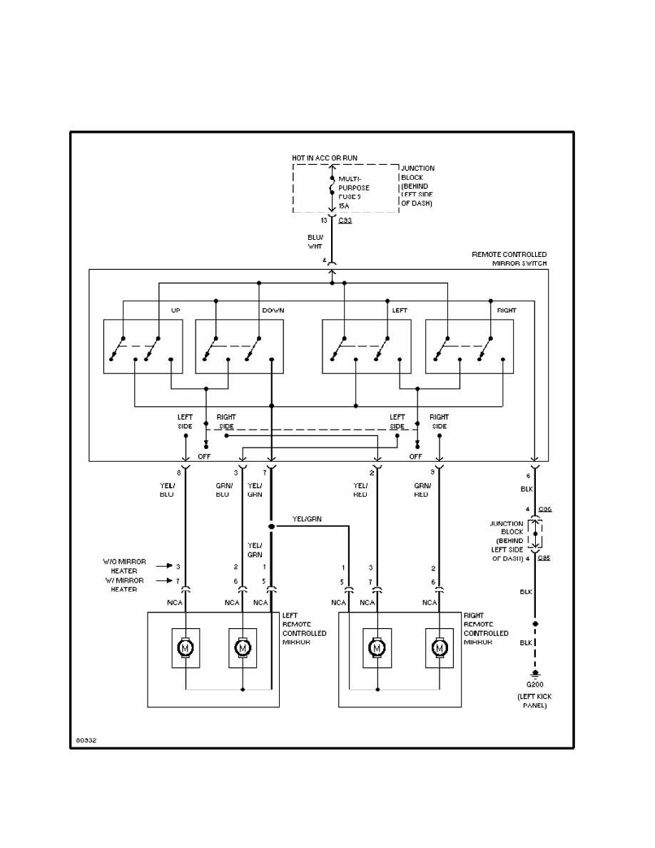 Mitsubishi Montero 1998 Manual Part 247 Wiring Diagram