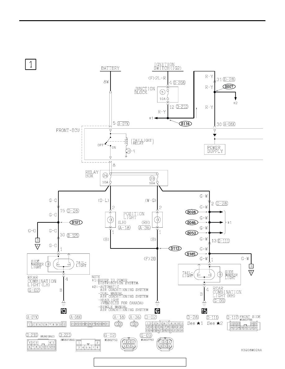 Mitsubishi Montero 2002 2004 Manual Part 134 Wiring Diagram