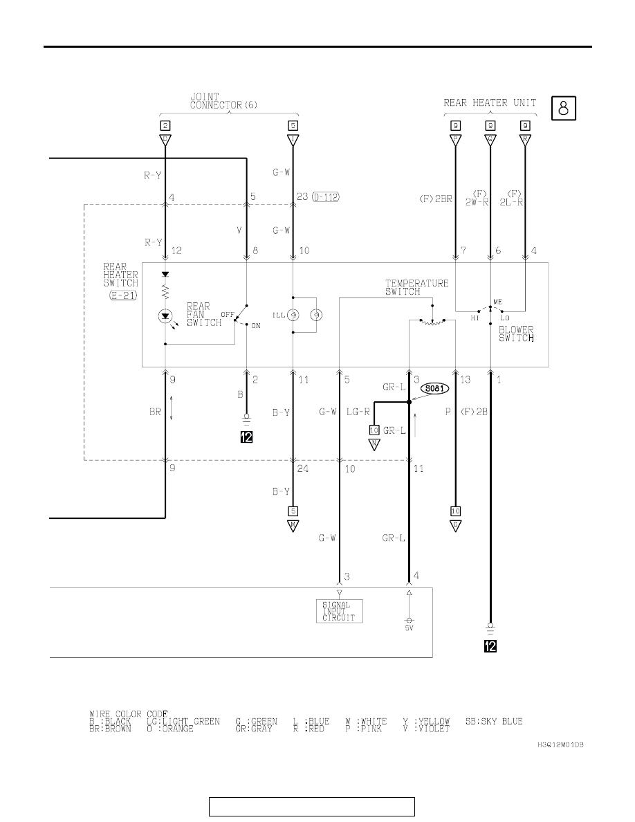 Mitsubishi Montero 2002 2004 Manual Part 150 Wiring Diagram