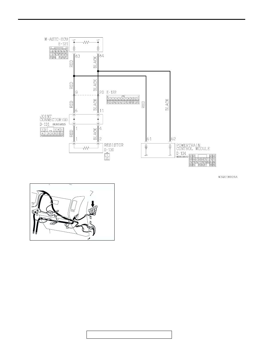Mitsubishi Montero (2002-2004). Manual - part 1137