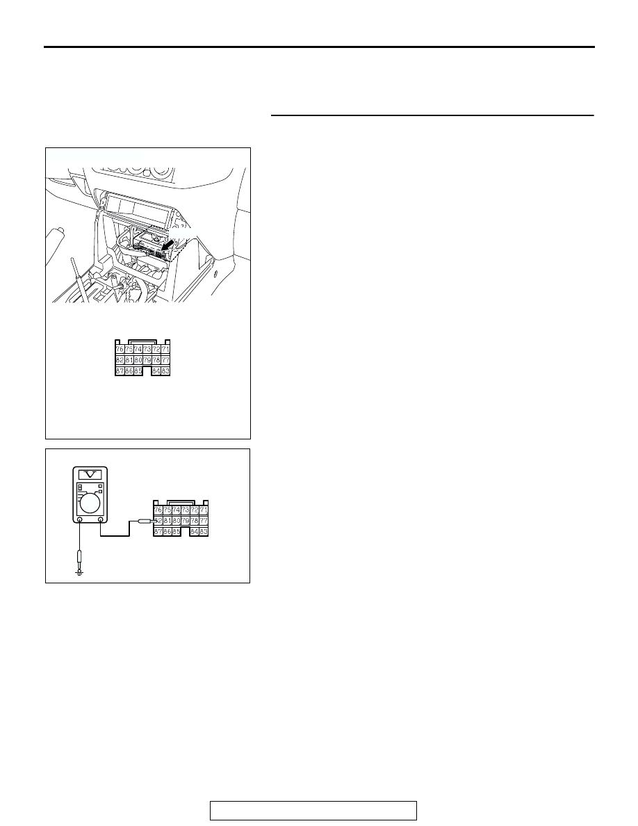 Mitsubishi Montero (2002-2004). Manual - part 1143