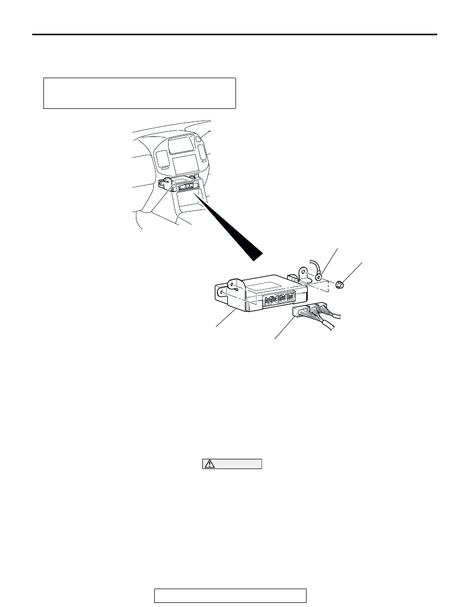 Mitsubishi Montero (2002-2004). Manual - part 1147