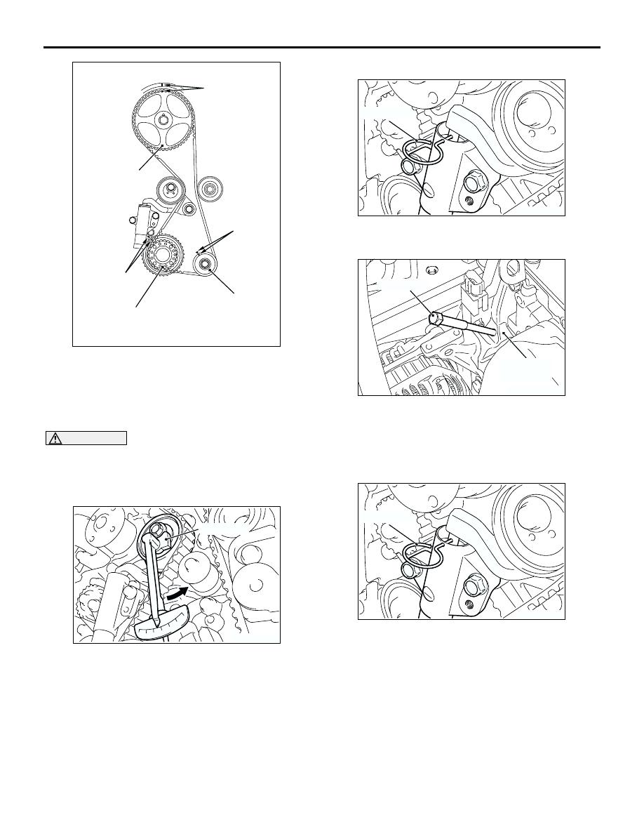 Mitsubishi Outlander 2003 Manual Part 29 Timing Belt For