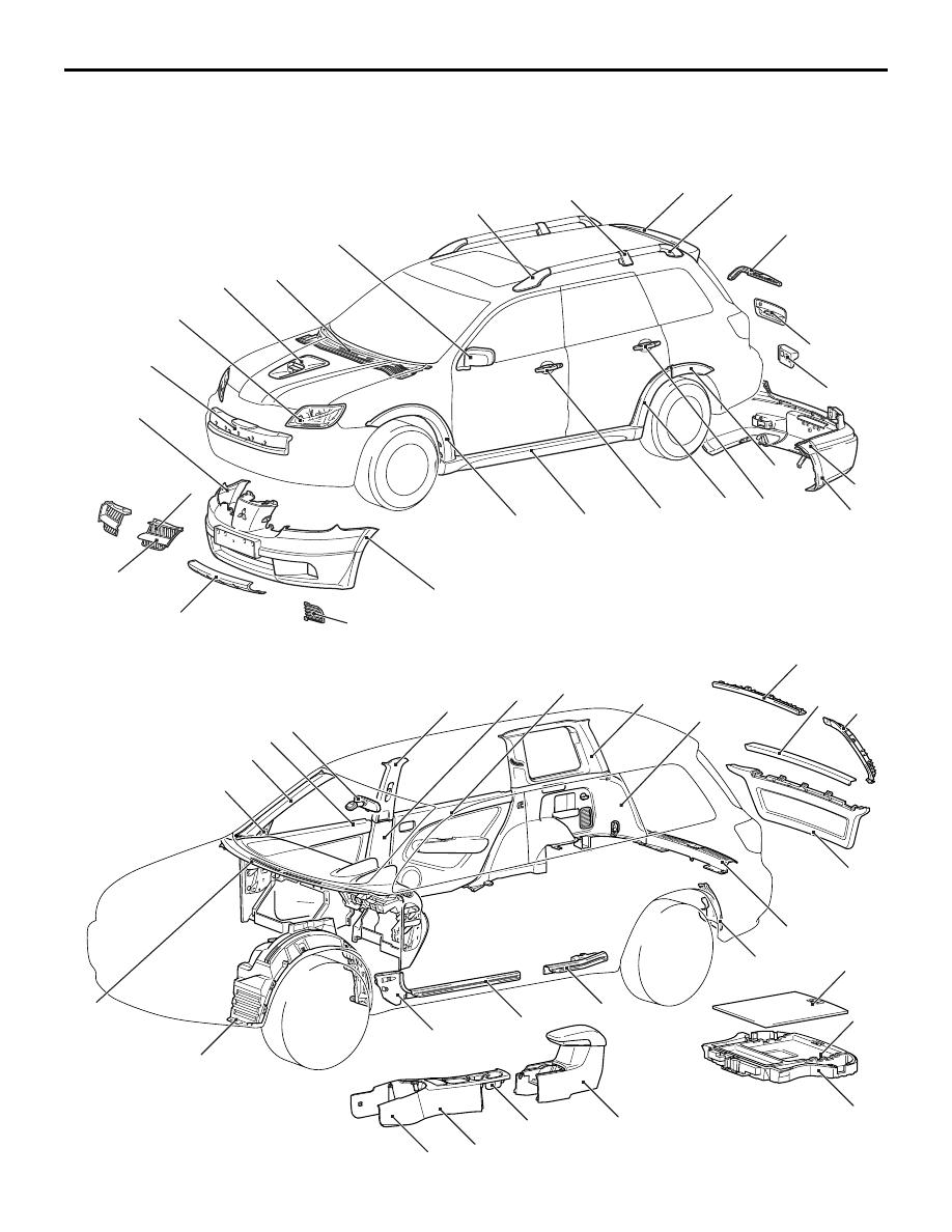 Mitsubishi Outlander Parts Diagram