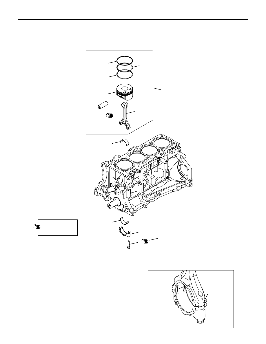 4b12 engine timing marks