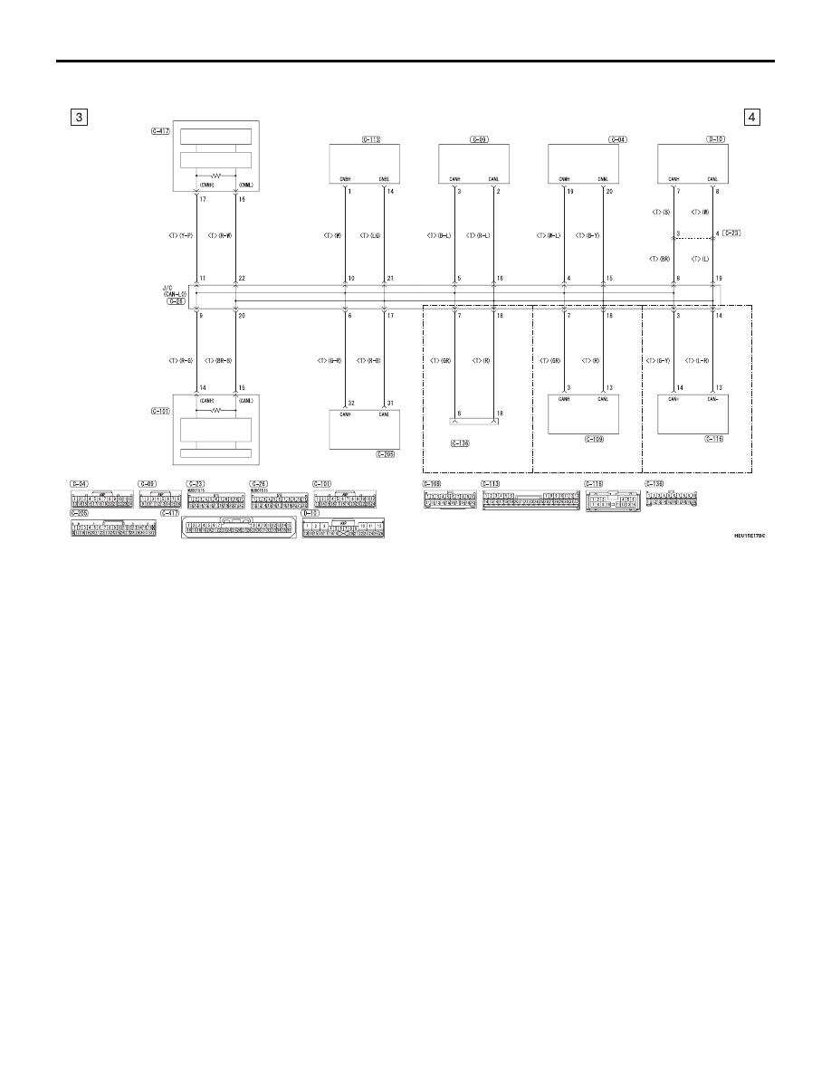Mitsubishi Outlander 2013 Manual Part 797 Wiring Diagrams Can Circuit