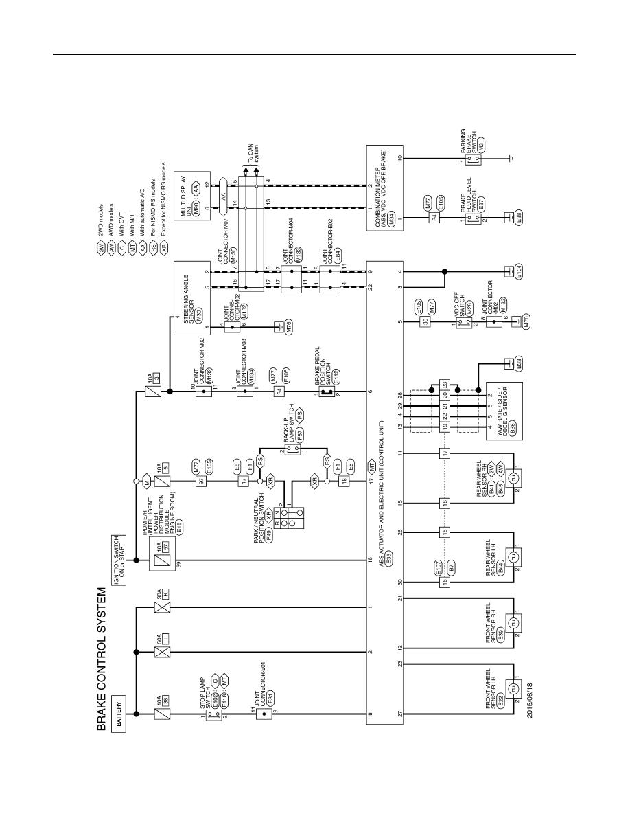 Nissan Juke F15 Manual Part 115 Wiring Diagrams Brc 52 Diagram