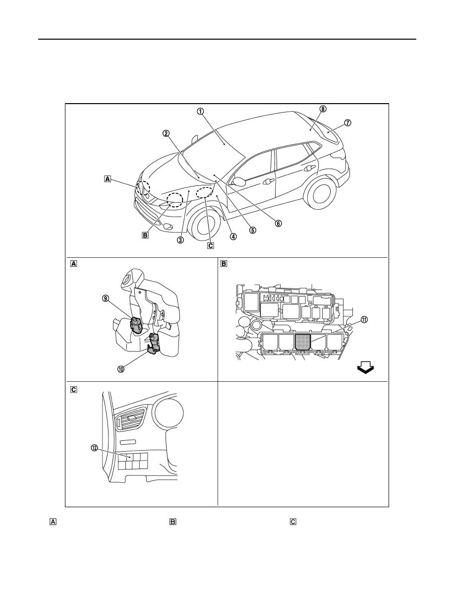 Nissan Qashqai J11  Manual - part 1782