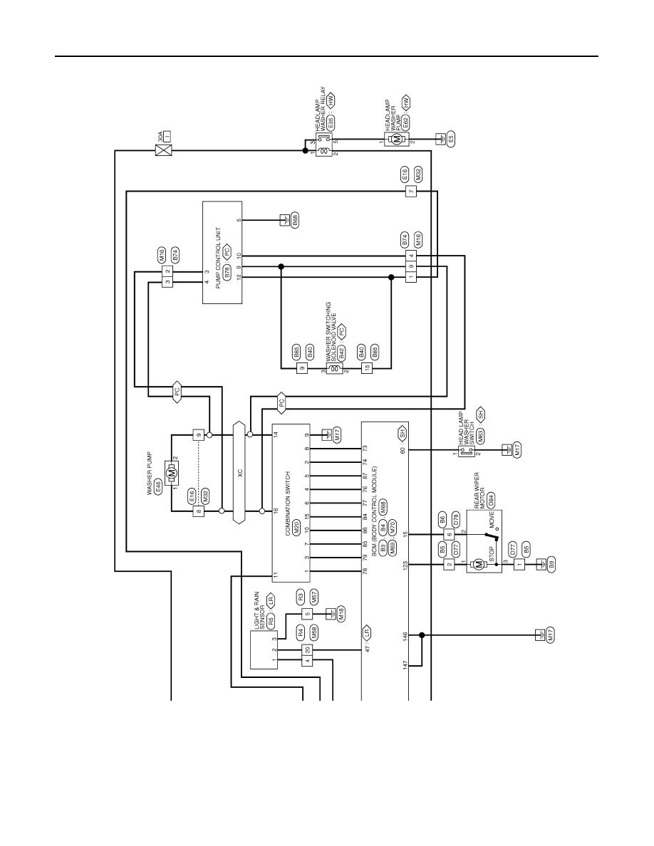 Nissan Qashqai Wiring Diagram Browse Data Primera Fuse Box Manual J11 Part 1789 Repair Diagrams