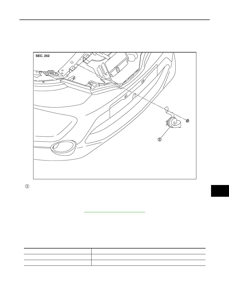 Nissan Qashqai J11 Manual Part 1816 Wiring Diagram Horn