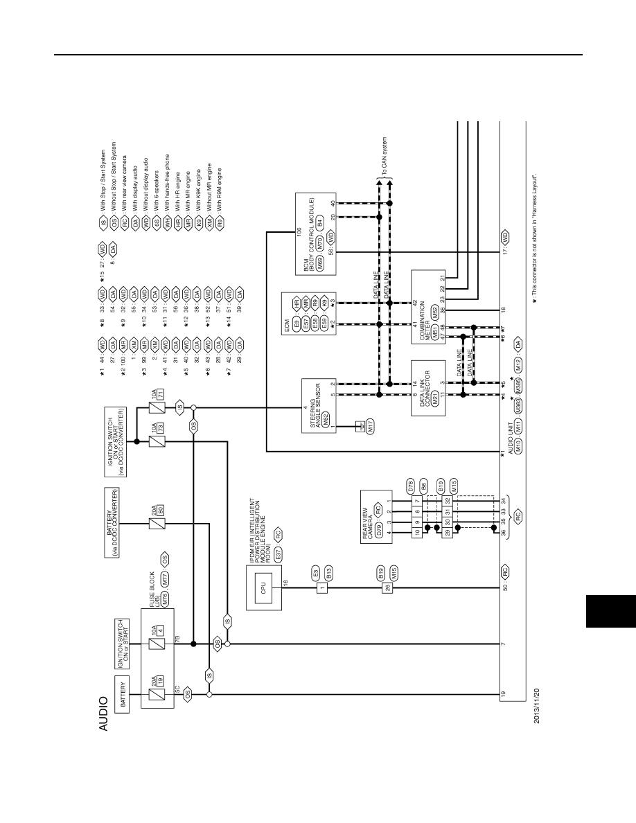 Nissan Qashqai Connect Wiring Diagram