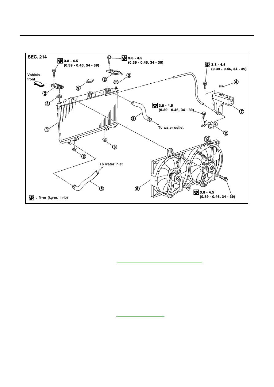 Nissan Primera P12. Manual - part 162 on