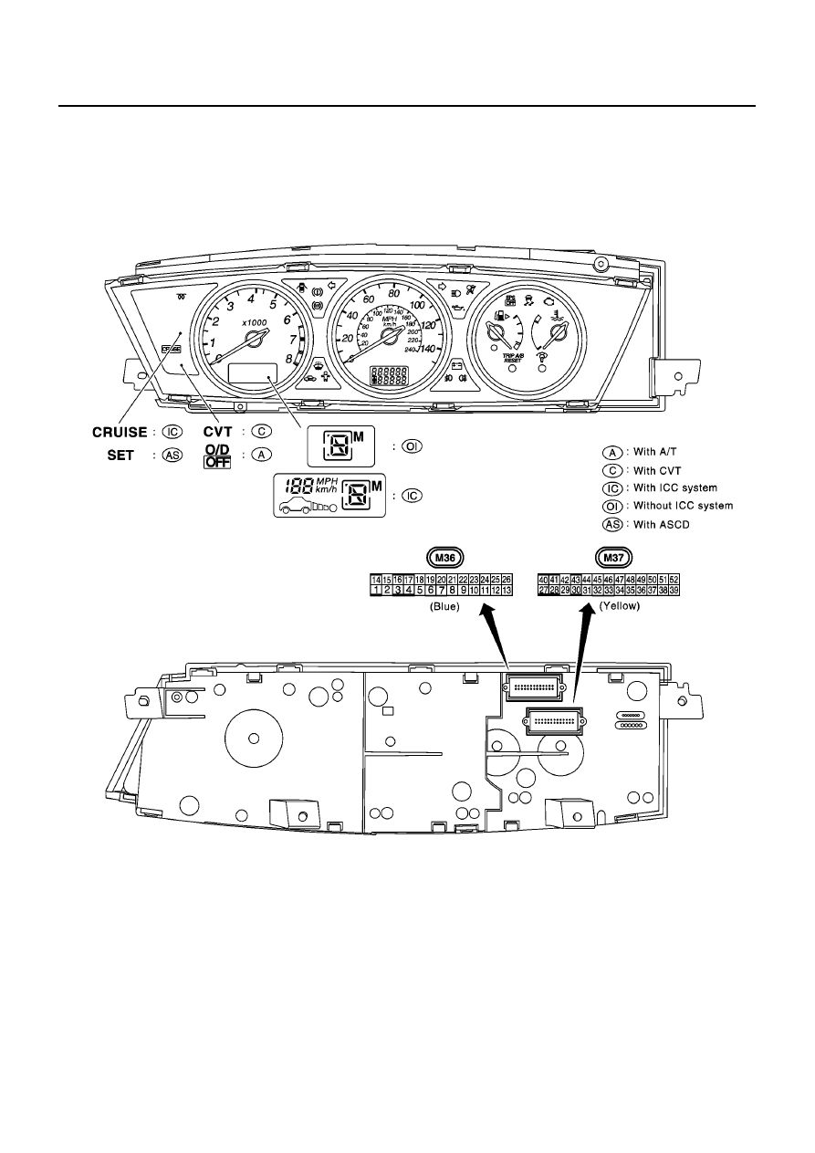 Nissan Primera P12 Manual Part 176 Cruise Control Diagram Di 34