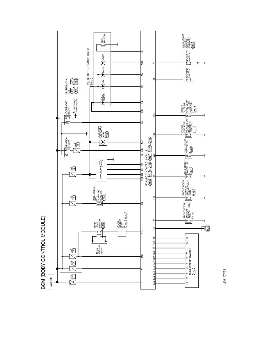 Nissan Murano Bcm Wiring Diagram