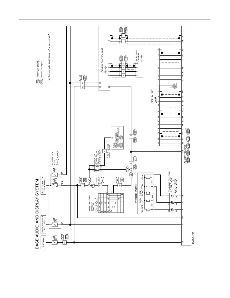 Nissan Vq25 Wiring Diagram Diagrams Data Base 2010 Maxima Teana J32 Manual Part 64 Rh Zinref Ru On 93 Pickup For
