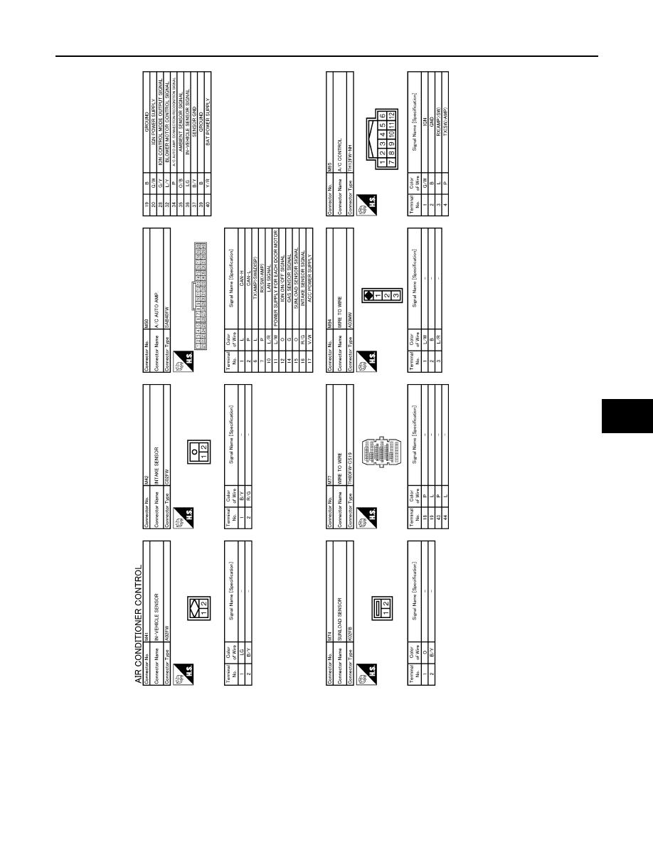 Nissan Teana J32 Manual Part 713 Wiring Diagram