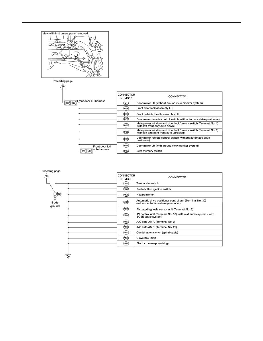 Nissan Pathfinder Manual Part 911 Airbag Switch Box Wiring Diagram Pg 36