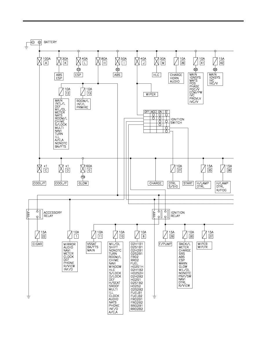Nissan Almera Tino V10. Manual - part 679 on