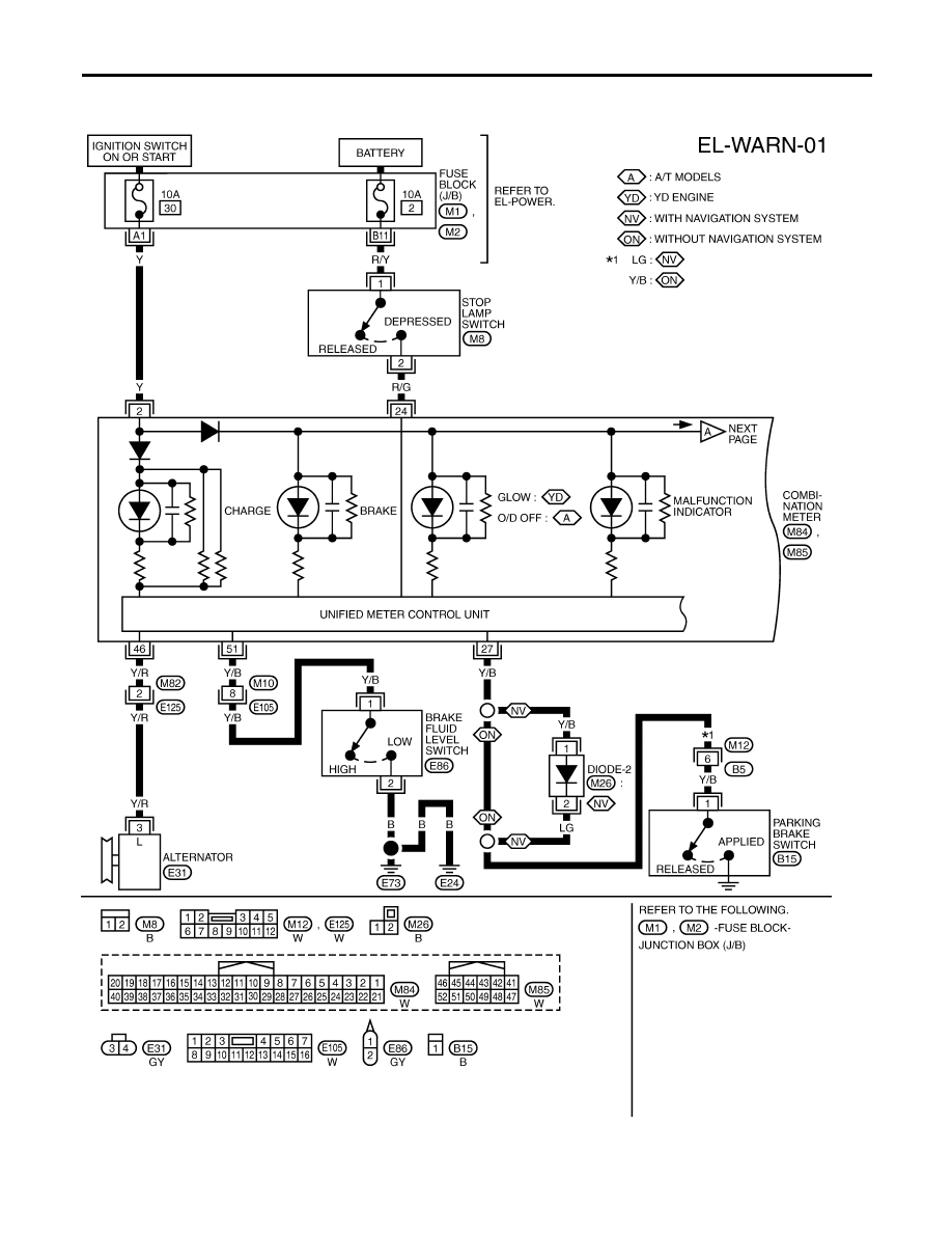 nissan sunny wiring diagram nissan almera tino v10. manual - part 705 nissan qg15de wiring diagram #6