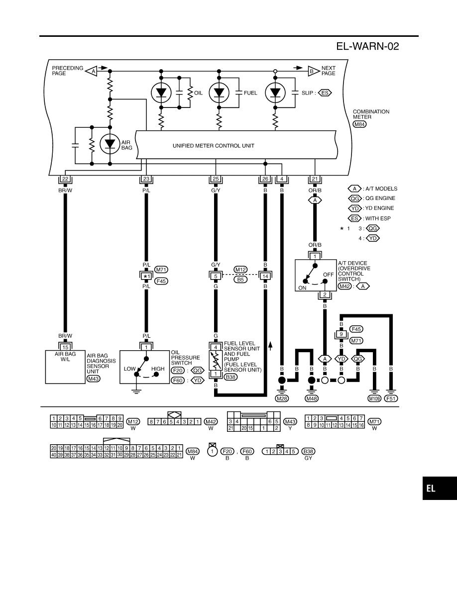 Nissan Almera Tino V10. Manual - part 705 on