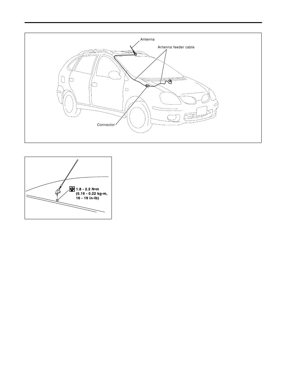 Nissan Almera Tino V10. Manual - part 729 on