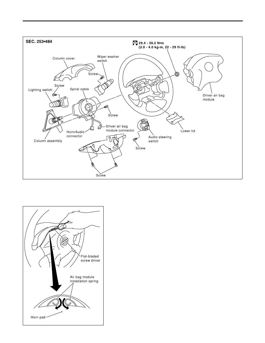 Nissan Almera Tino V10. Manual - part 953 on