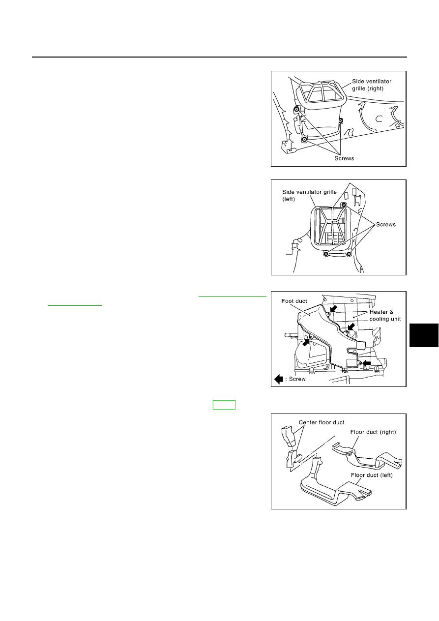 Nissan Almera Tino V10. Manual - part 232 on