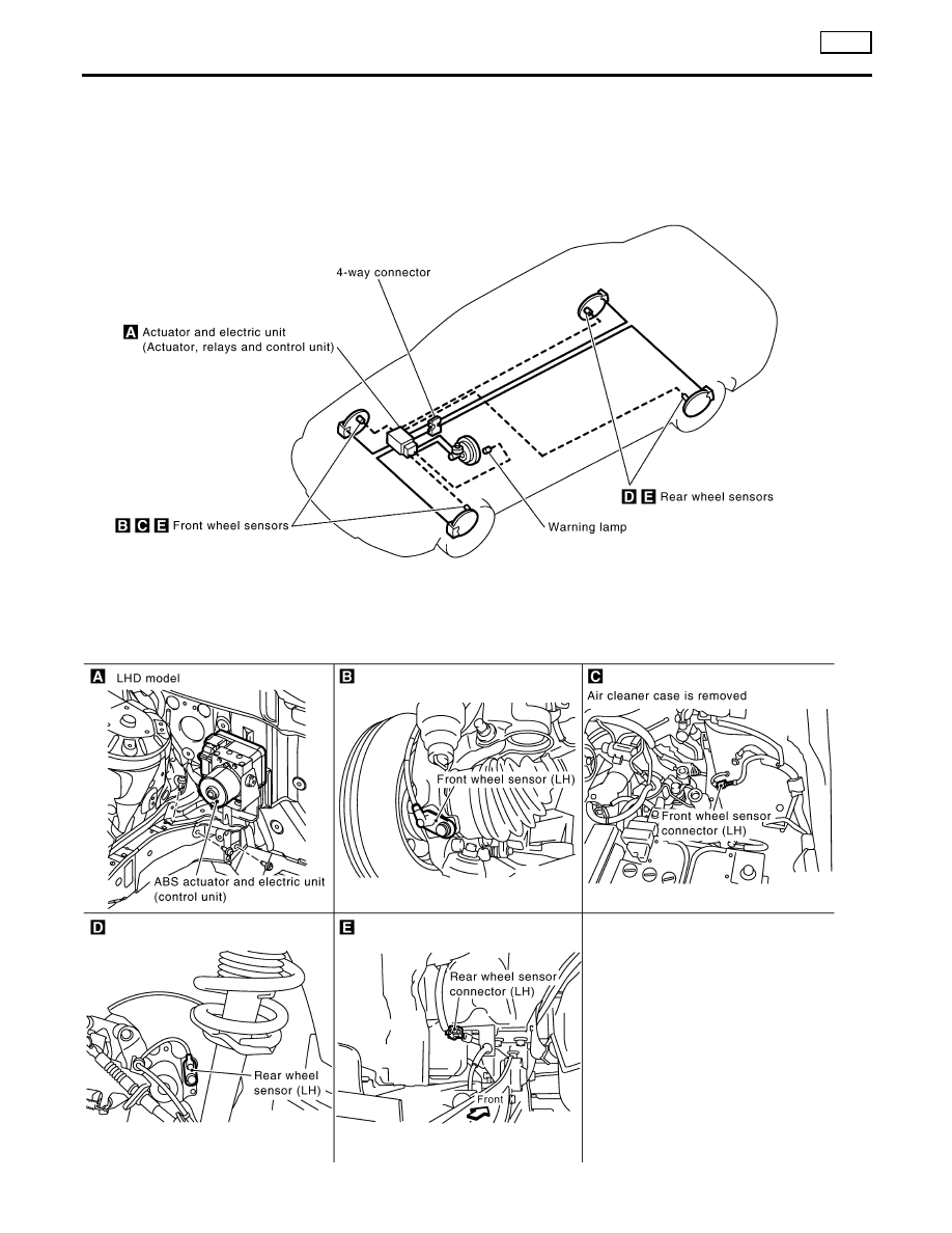 Nissan Almera Tino V10. Manual - part 250 on
