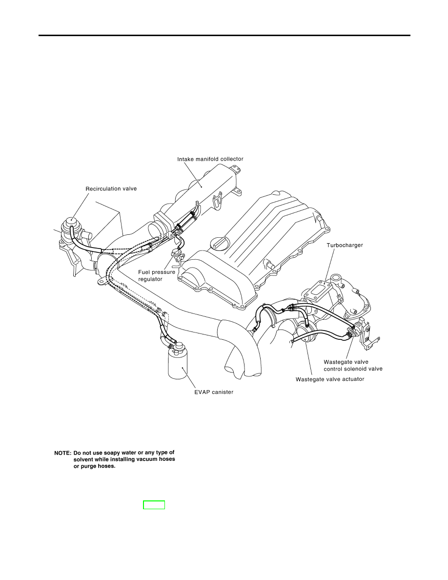 Nissan Silvia Manual Part 125 Fuel Pressure Diagram Vacuum Hose Drawing