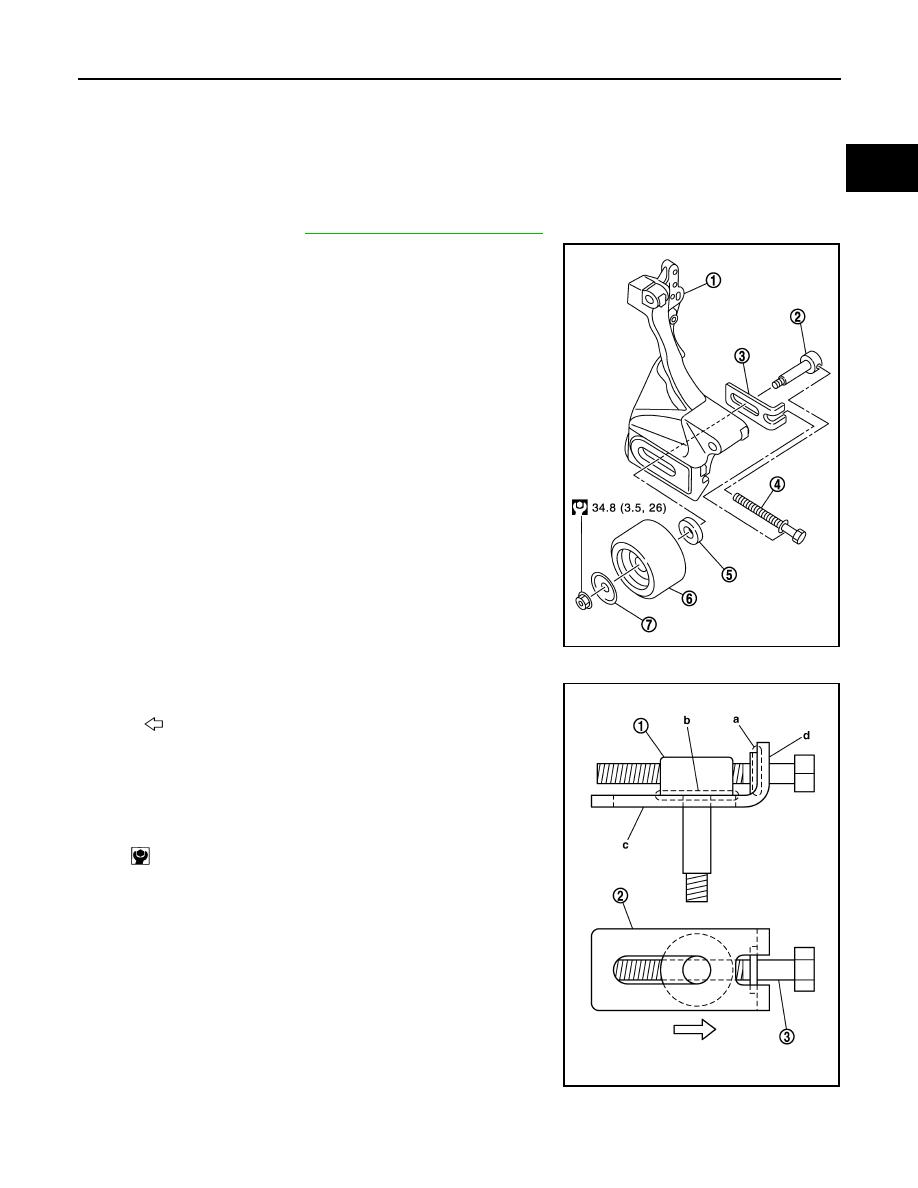 Nissan March K13 Manual Part 272 Idler Pulley Diagram Drive Belt
